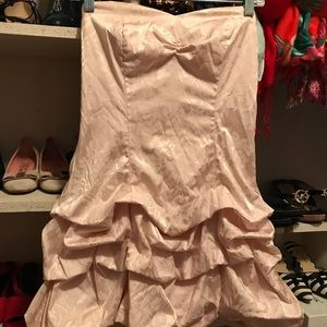 Free with any purchase!Ruby rox strapless dress